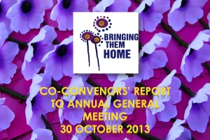 Co-convenors Report Cover Image
